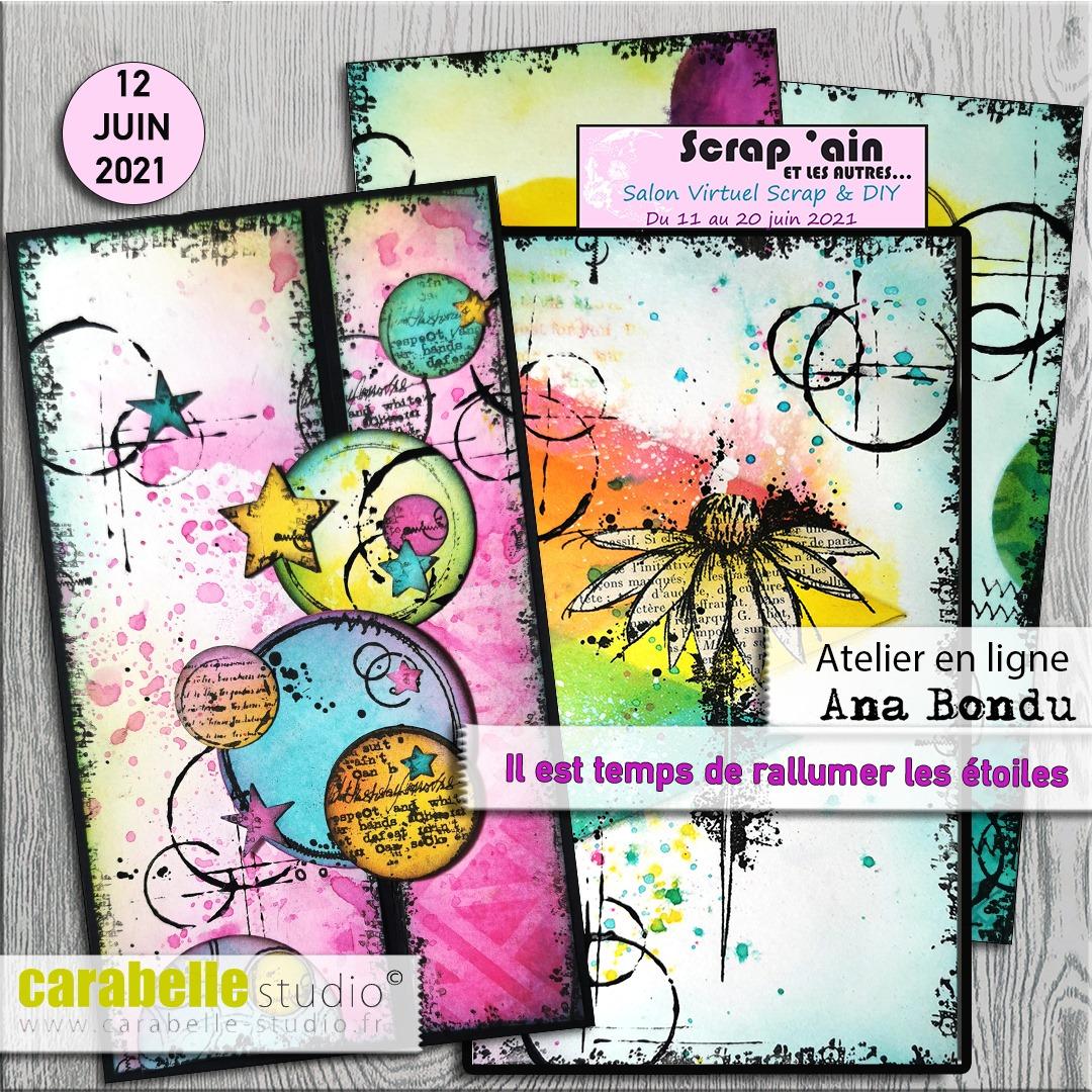 Atelier le 12.06 sur groupe FB -  Ana Bondu
